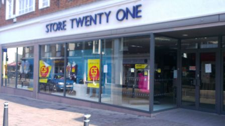 Store Twenty One in Royston is closed today