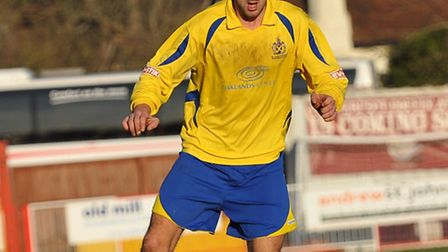 St Albans City's Chris Seeby was a notable absentee from Saturday's starting line-up.