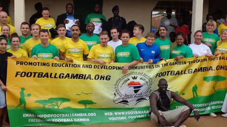 Football Gambia helps to promote education through football, and develop communities in the Gambia.