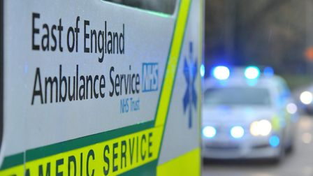 Paramedics treated a woman for minor injuries after the collision