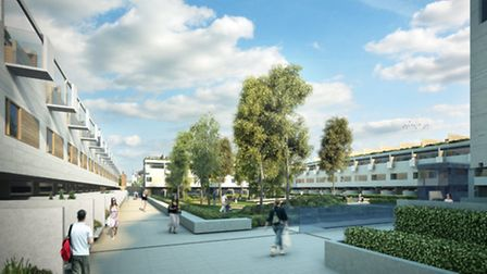 New images of the London Road project