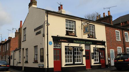 The Farriers Arms on Lower Dagnall Street, St Albans