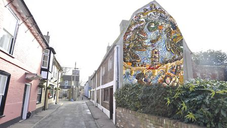 Proposed mural in St Ives Quay