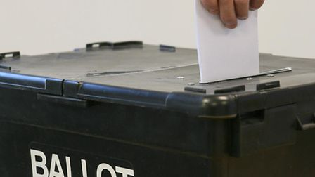 Ballot boxes like these will be distributed throughout Potters Bar on polling day