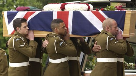 The Funeral of Captain James Philippson took place on the 26th June 2006 at the St Albans Cathedral.