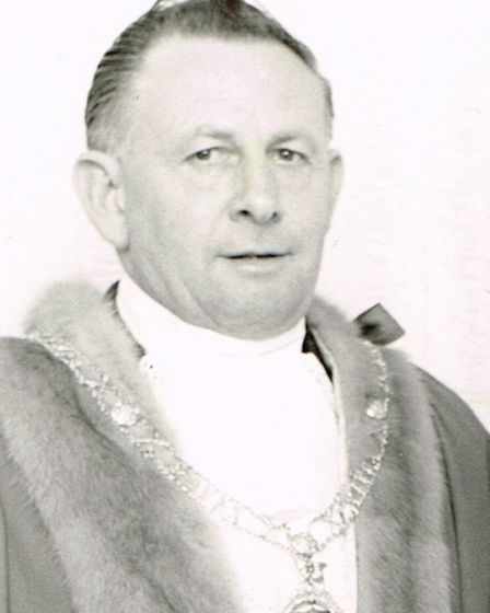 Taffy James who was Mayor of St Ives from 1970 to 1971
