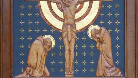 Ian Howgate's Stations of the Cross. A faith craft symposium is being held on April 6