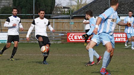 Kaan Fehmi netted two late goals to secure a vital win for Royston