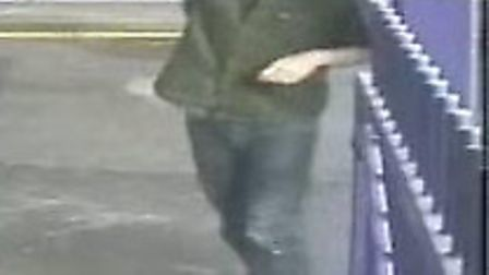 CCTV image of man police would like to speak to in connection with Harpenden assault