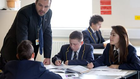 Students learning at Samuel Ryder Academy