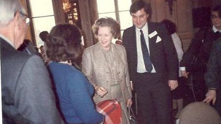 Oliver Heald and Baroness Thatcher