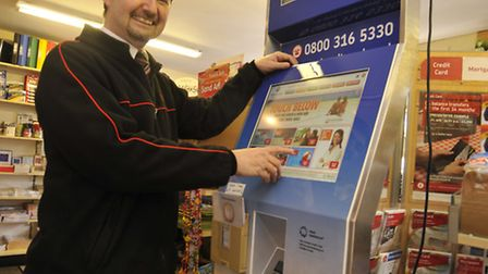 THE village sub post office in Warboys has become one of the first in the country to house an innova