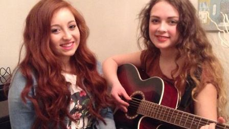 Red Is Blonde - Livi (left) and Hollie (right)
