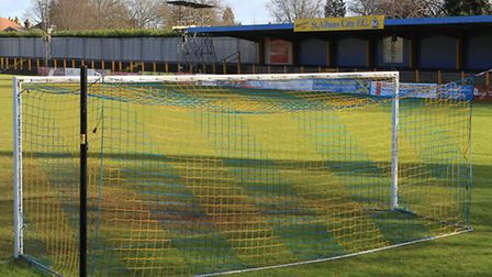 Clarence Park, home to St Albans FC