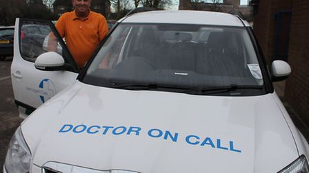 Herts Urgent Care responds to criticism. Shaun O'Brien, pictured, drives doctors to out-of-hours app