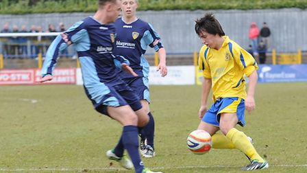 Layne Eadie is a doubt for Saturday's match against AFC Totten. Picture by Rob Walkley.