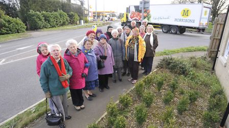 Buckden WI want to put traffic lights on A1 roundabout amid safety concerns