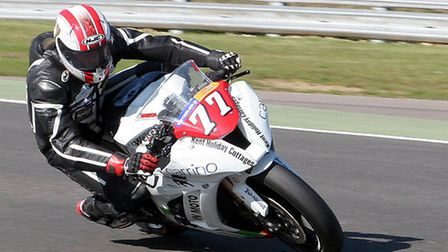 ON TRACK: Jonathan Railton will be competing in two British championships this season. Picture: Nige