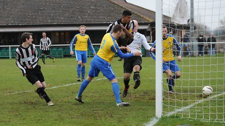 Action from Colney Heath's 4-3 win over Berkhamsted.
