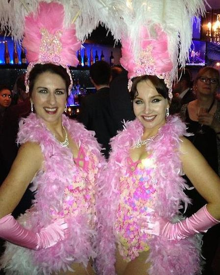 The glamorous showgirls entertainment nominees at the ceremony