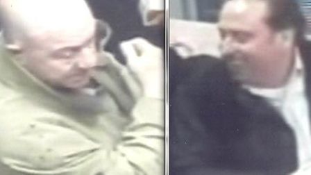 Two men police would like to speak to in connection with an assault in St Ives