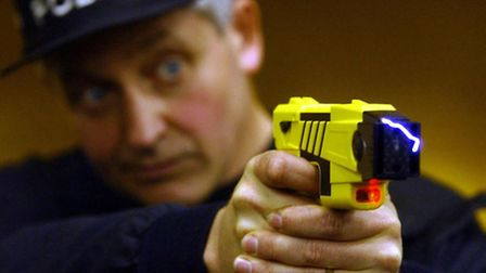 Cambridgeshire Police have been training more police officers in the use of Tasers