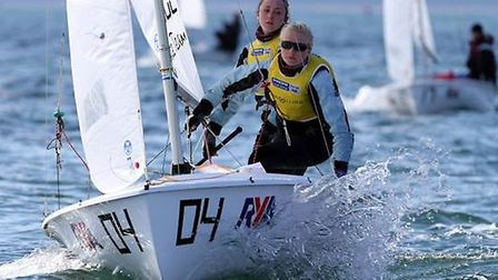 Annabel Catermole and Bryony Bennett-LLoyd won the Spring Championships in Wales.