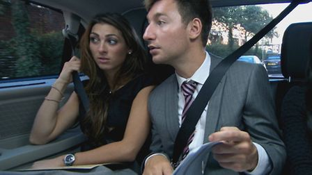 Luisa Zissman with her teammates during episode two