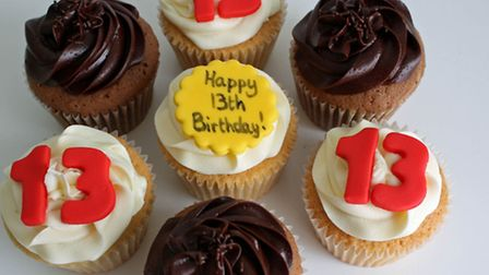Cupcakes ordered by Sharon and Ozzy Osbourne from St Albans' Heaven is A Cupcake