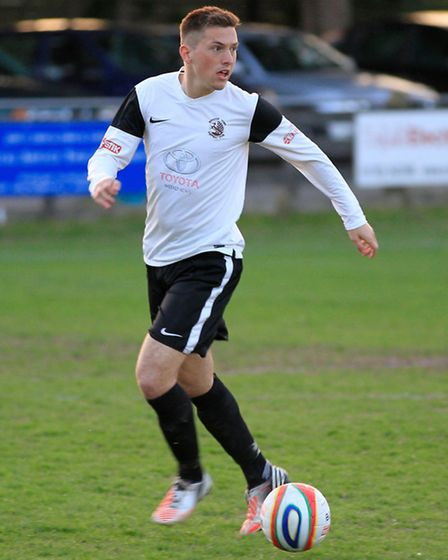 Royston's Man of the Match Lewis Endacott