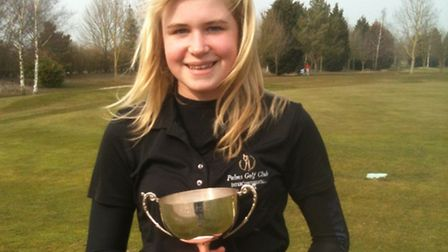 IN THE SWING: Chloe Neal took first place at Lakeside Lodge.