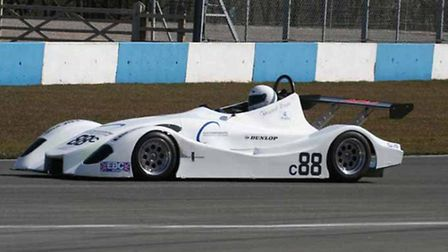 A REAL GEM: The car that HRC college students are racing in the Clubmans Cup this season.