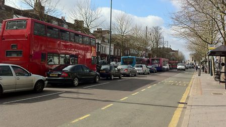 Traffic woes in St Albans city centre
