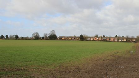 Proposed playing fields on land at New Farm, Roundwood Lane, Harpenden