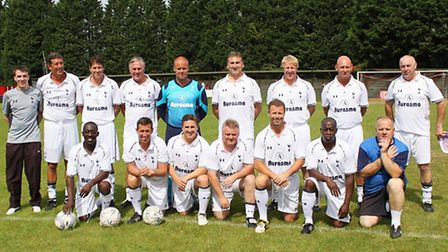 Spurs Legends team to tackle civil engineering company BAM Nuttall at St Albans City F.C. for Macmil