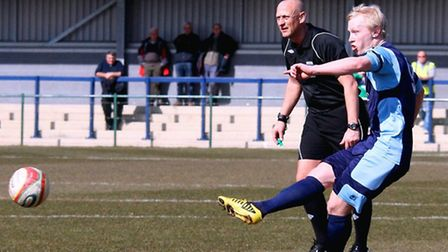 Lewis Hilliard fires St Neots in front