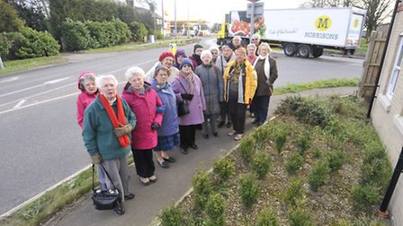 Buckden residents campaigning for traffic lights on the A1 roundabout
