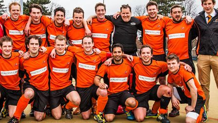 St Albans following their 4-0 win over Blueharts. Picture by Chris Hobson