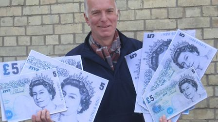 Chris Lee has organised Royston's first cash mob