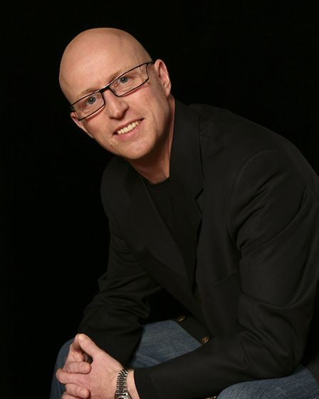 Nick Fogarty who wrote the story, music and lyrics for The Golden Voice