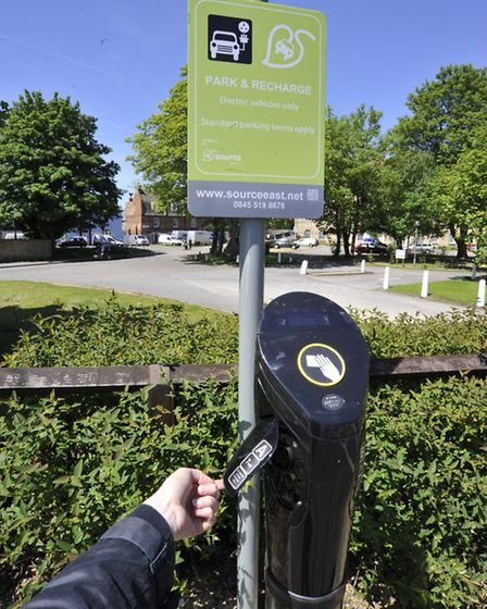 Godmanchester Electric Car Charging Points