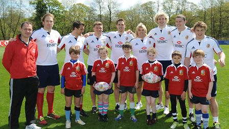 PONTYCLUN, WALES - MAY 16: xxx during the Lions Official Squad Appearance at Vale Resort on May 16,