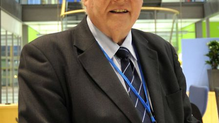 Cambs Police Commisioner Sir Graham Bright