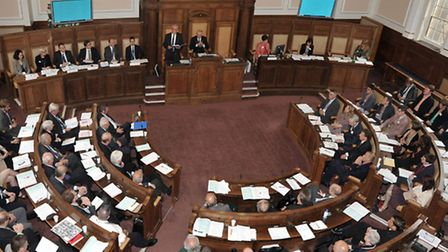 Election of Chairman and Leader for Cambridgeshire County Council.