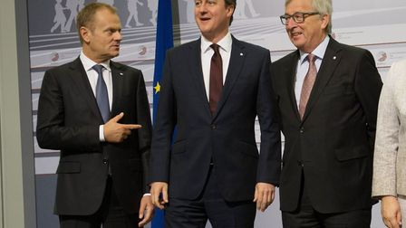 President of the European Council, Donald Tusk, President of the European Commission Jean Claude Jun
