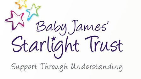 The new look for Baby James' Starlight Trust designed by Mark Davies