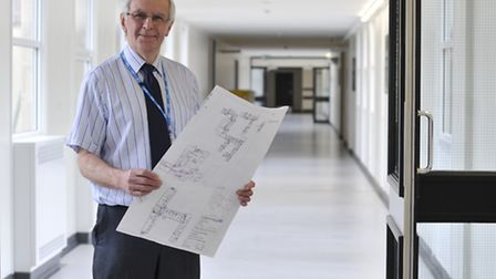 Hinchingbrooke Hospital building work, Tony Summerlin, Project Design Manager