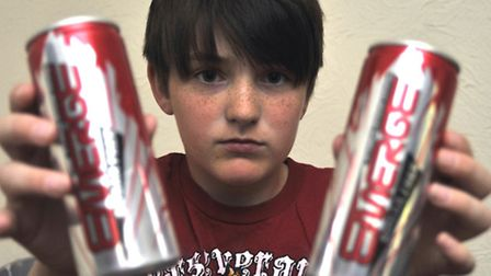 Poundland energy drinks were sold to 11 year old Ethan Goundry, from Huntingdon