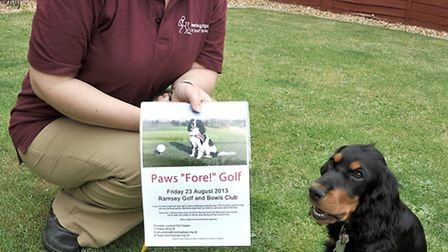 Charity golf day. Deborah Maloney is organising a chairty golf day for Hearing Dogs for Deaf People.