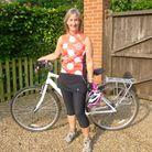 Jacquie Kier who is taking part in the Prudential RideLondon-Surrey 100